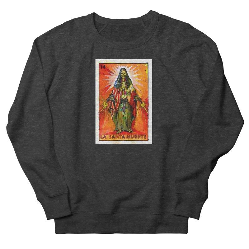 La Santa Muerte Women's Sweatshirt by Miguel Valenzuela
