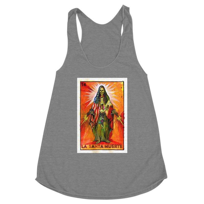 La Santa Muerte Women's Tank by Miguel Valenzuela