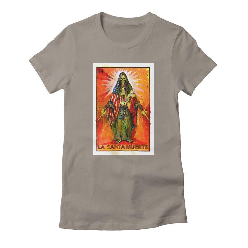 La Santa Muerte Women's T-Shirt by Miguel Valenzuela