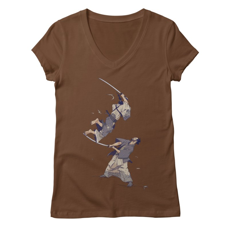 No more Bento! 10 year anniversary edition. Women's V-Neck by Mika's Artist Shop