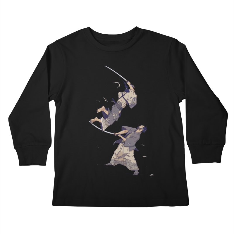 No more Bento! 10 year anniversary edition. Kids Longsleeve T-Shirt by Mika's Artist Shop