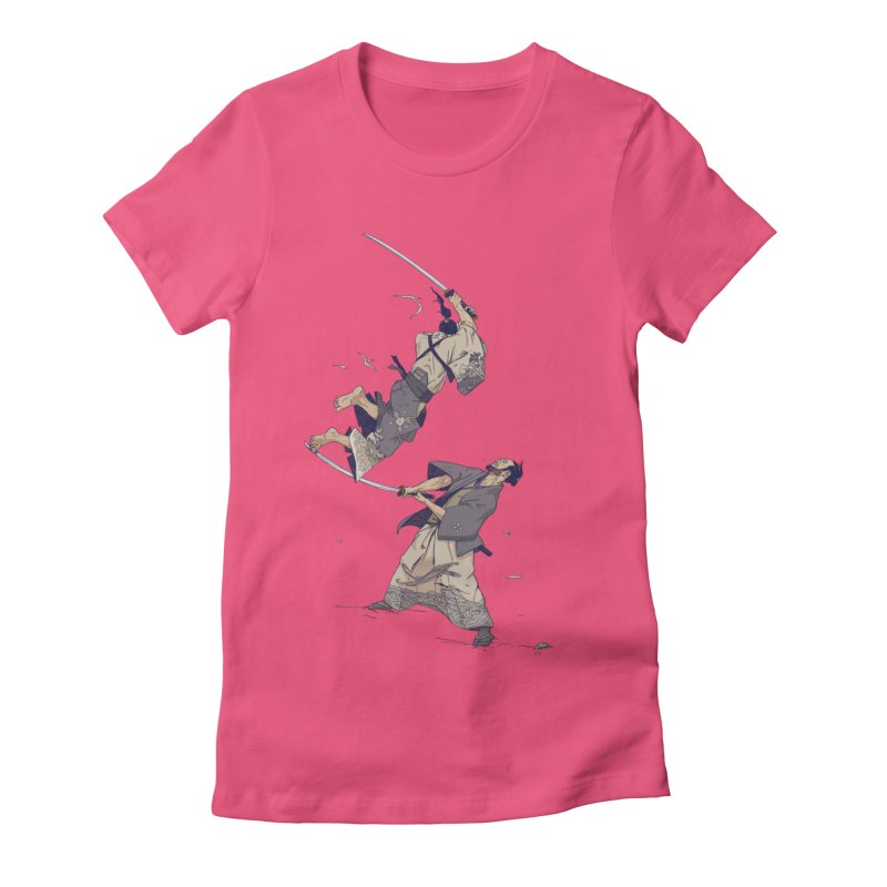 No more Bento! 10 year anniversary edition. Women's Fitted T-Shirt by Mika's Artist Shop