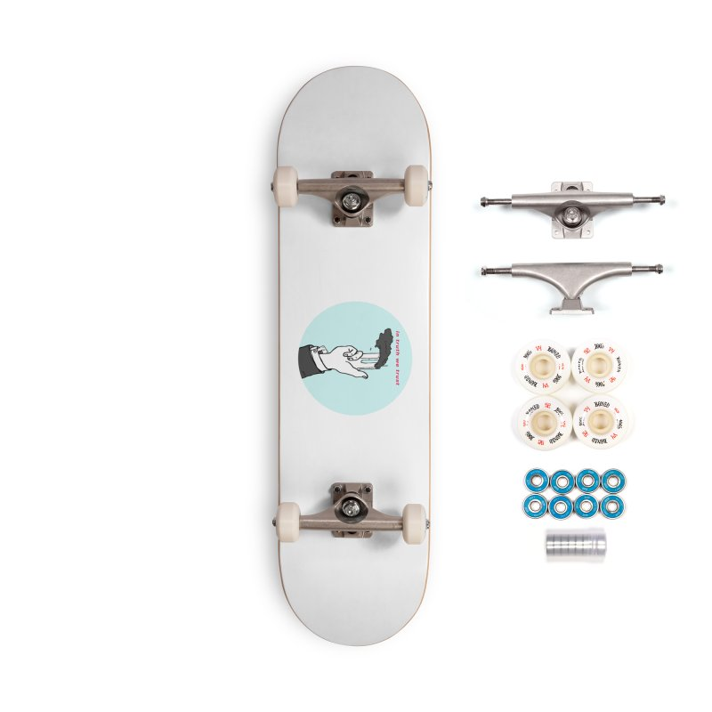 in truth we trust Accessories Complete - Premium Skateboard by mikbulp's Artist Shop