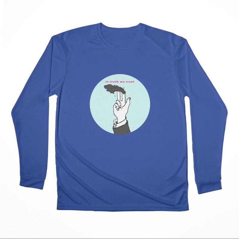 in truth we trust Men's Performance Longsleeve T-Shirt by mikbulp's Artist Shop