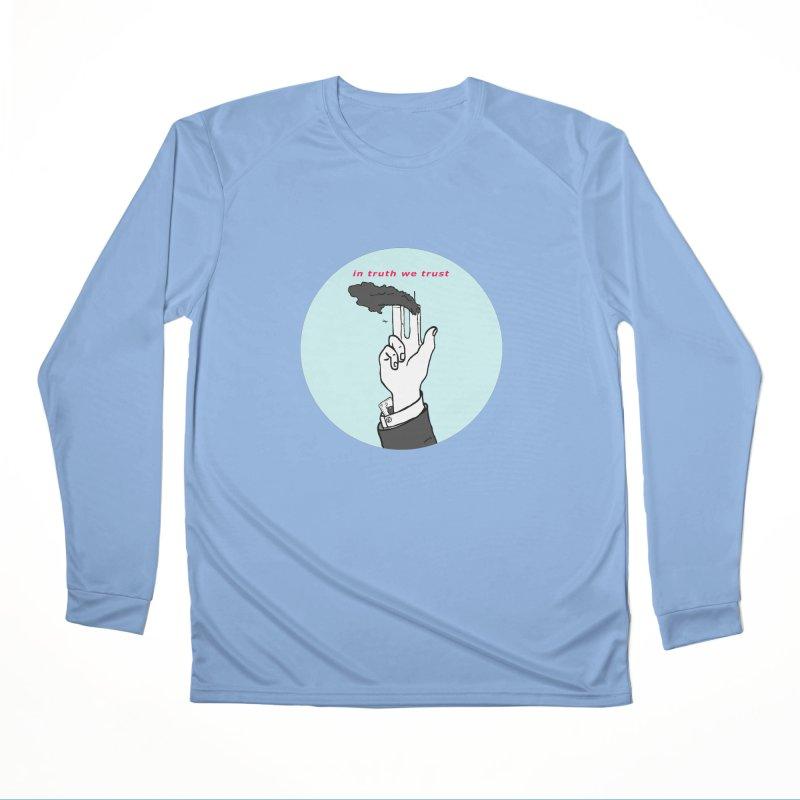 in truth we trust Women's Longsleeve T-Shirt by mikbulp's Artist Shop
