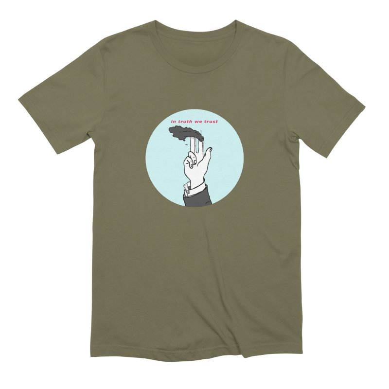 in truth we trust Men's Extra Soft T-Shirt by mikbulp's Artist Shop