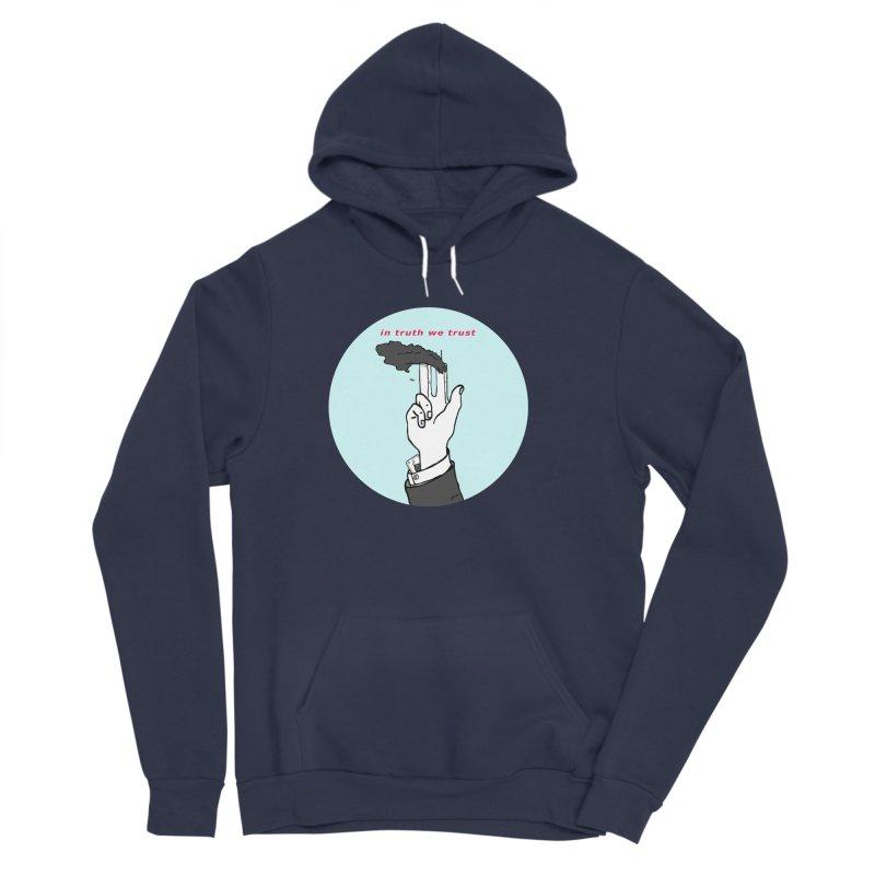 in truth we trust Men's Sponge Fleece Pullover Hoody by mikbulp's Artist Shop