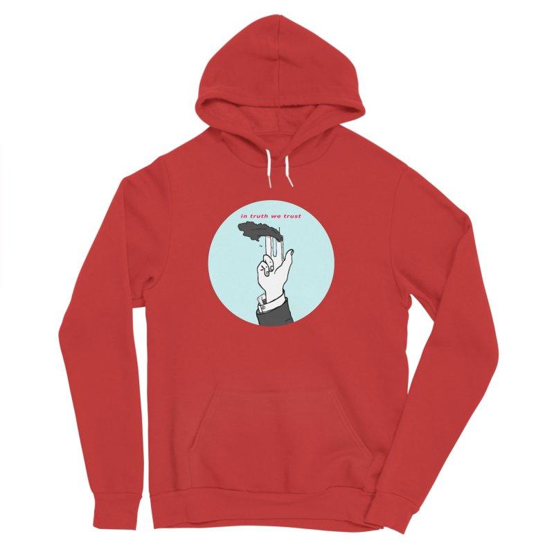 in truth we trust Women's Sponge Fleece Pullover Hoody by mikbulp's Artist Shop