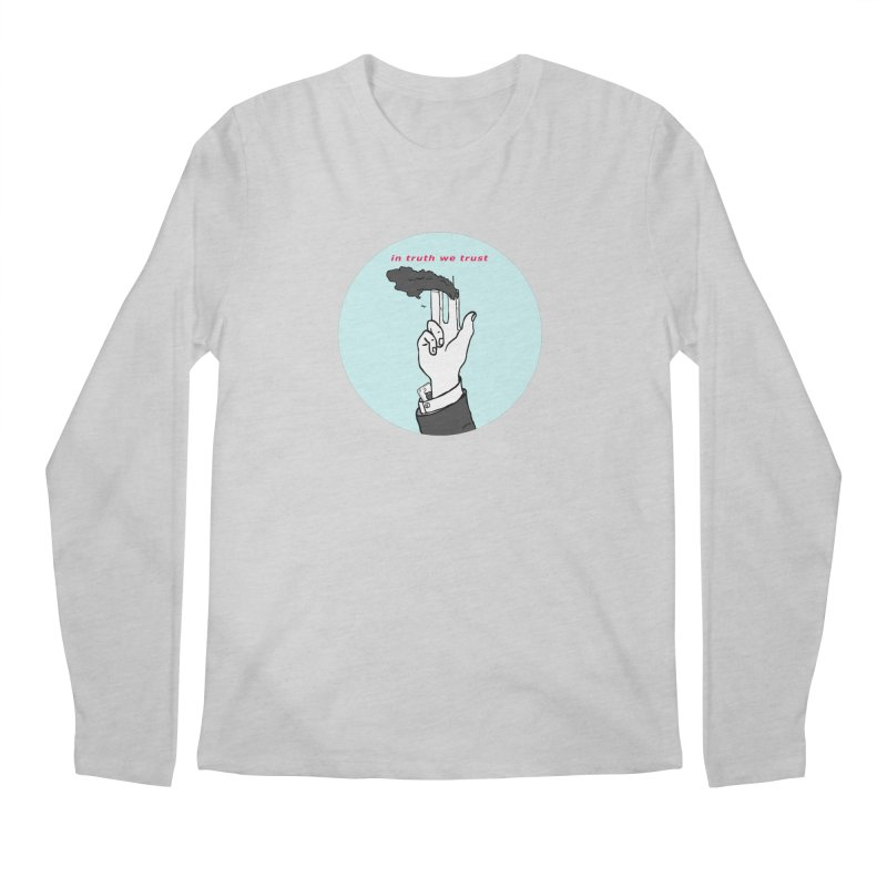in truth we trust Men's Regular Longsleeve T-Shirt by mikbulp's Artist Shop