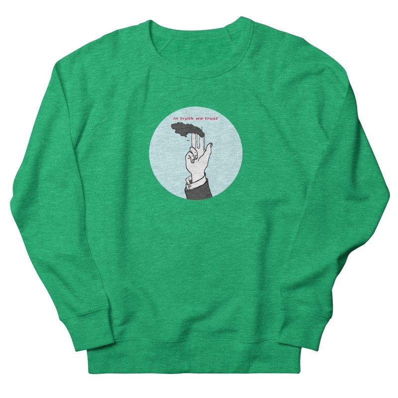 in truth we trust Women's French Terry Sweatshirt by mikbulp's Artist Shop