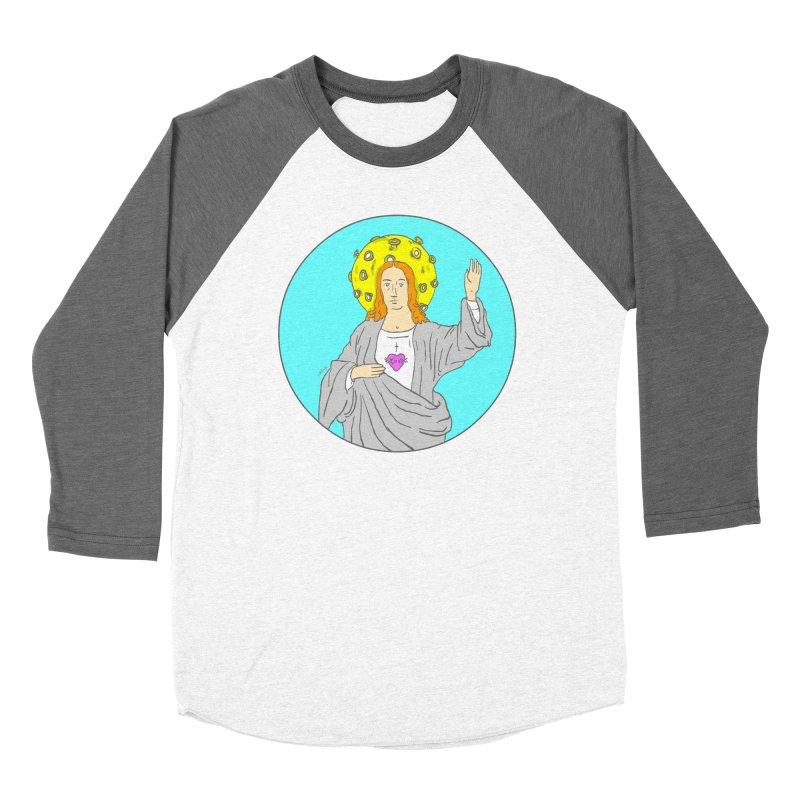 Jesus blessing Women's Longsleeve T-Shirt by mikbulp's Artist Shop