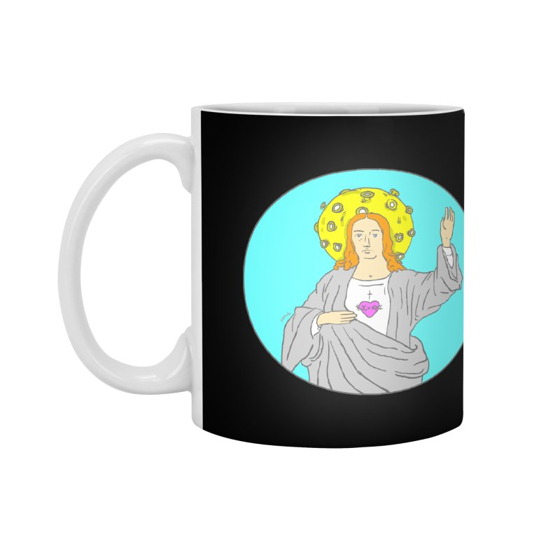 Jesus blessing Accessories Mug by mikbulp's Artist Shop