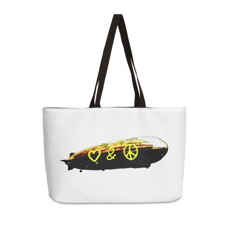 with peace and love aound the world Accessories Bag by mikbulp's Artist Shop