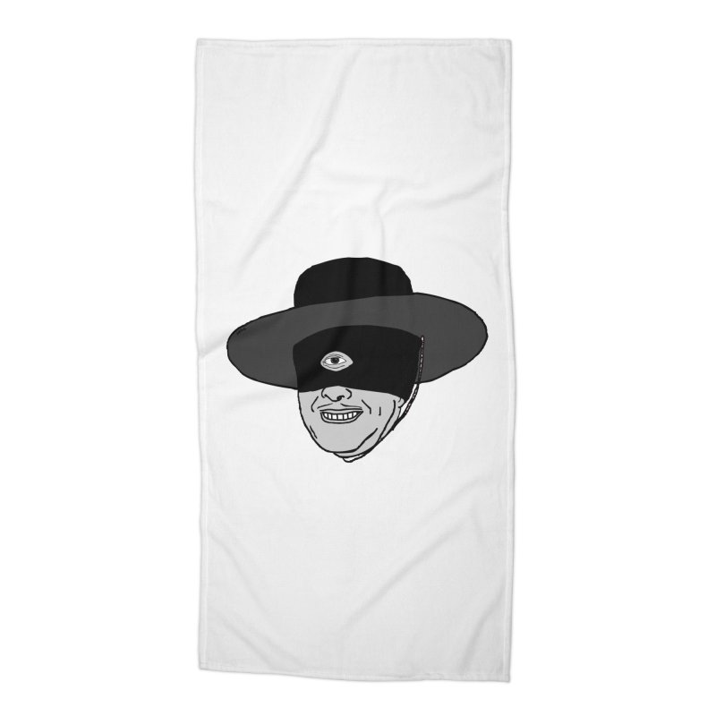 Zyrro Accessories Beach Towel by mikbulp's Artist Shop