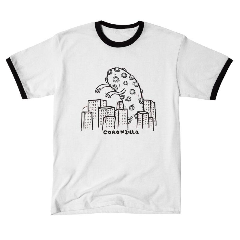 coronzilla Men's T-Shirt by mikbulp's Artist Shop
