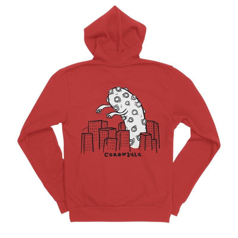 coronzilla Women's Zip-Up Hoody by mikbulp's Artist Shop