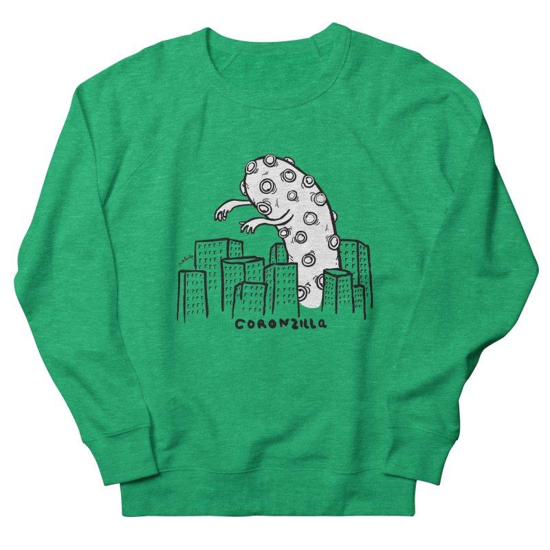 coronzilla Women's Sweatshirt by mikbulp's Artist Shop