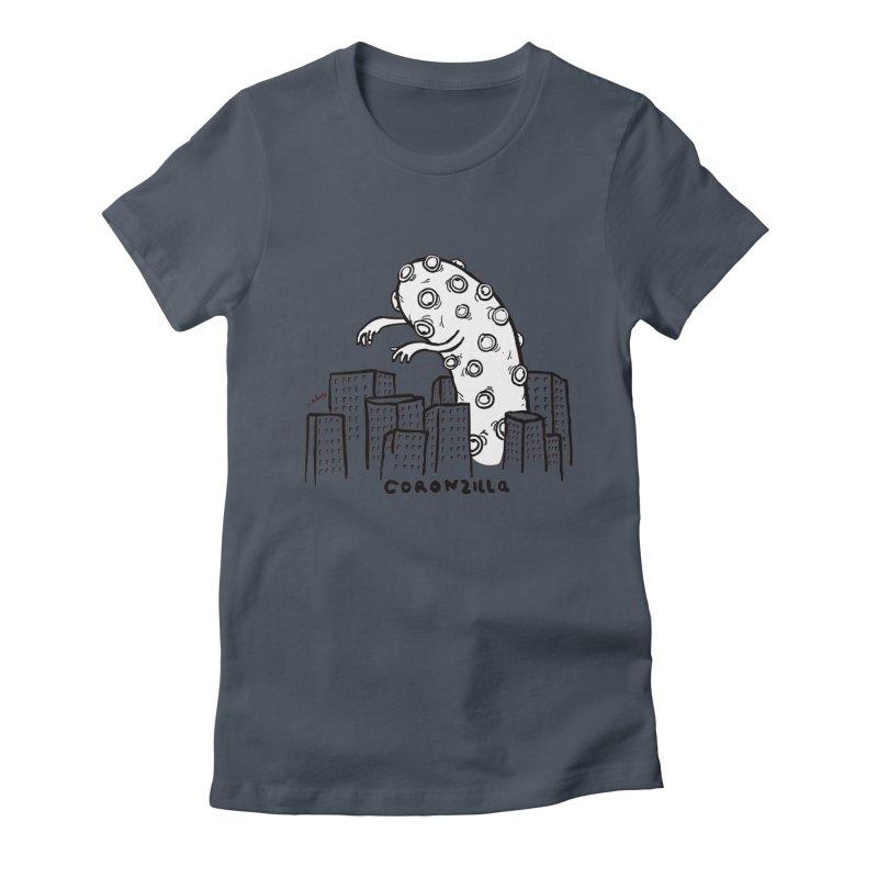 coronzilla Women's T-Shirt by mikbulp's Artist Shop