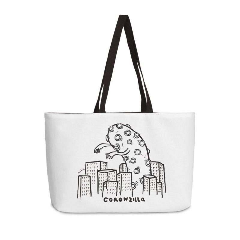 coronzilla Accessories Bag by mikbulp's Artist Shop