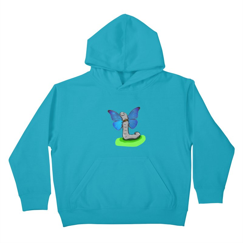 wormfly Kids Pullover Hoody by mikbulp's Artist Shop