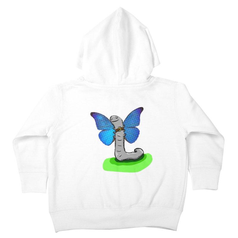wormfly Kids Toddler Zip-Up Hoody by mikbulp's Artist Shop