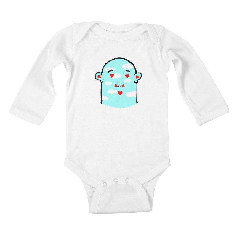 gates of love Kids Baby Longsleeve Bodysuit by mikbulp's Artist Shop