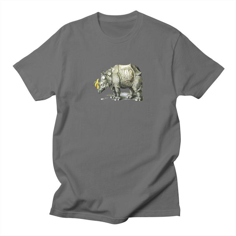 Rhino Men's T-Shirt by mikbulp's Artist Shop