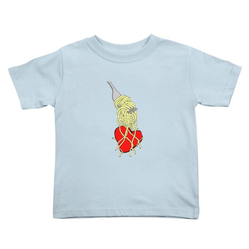 lovin forkful Kids Toddler T-Shirt by mikbulp's Artist Shop