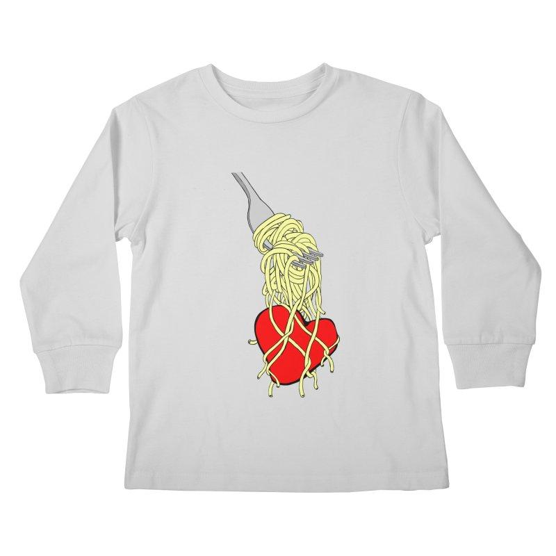 lovin forkful Kids Longsleeve T-Shirt by mikbulp's Artist Shop