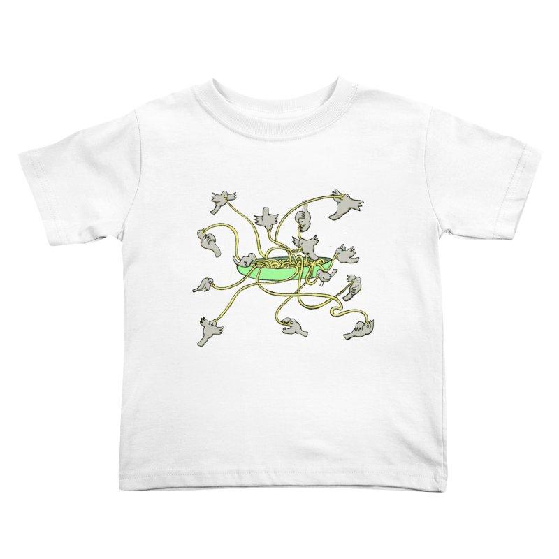 Kids Toddler T-Shirt by mikbulp's Artist Shop