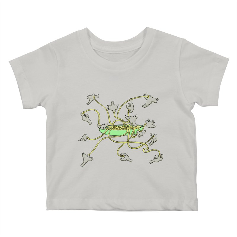 Kids Baby T-Shirt by mikbulp's Artist Shop