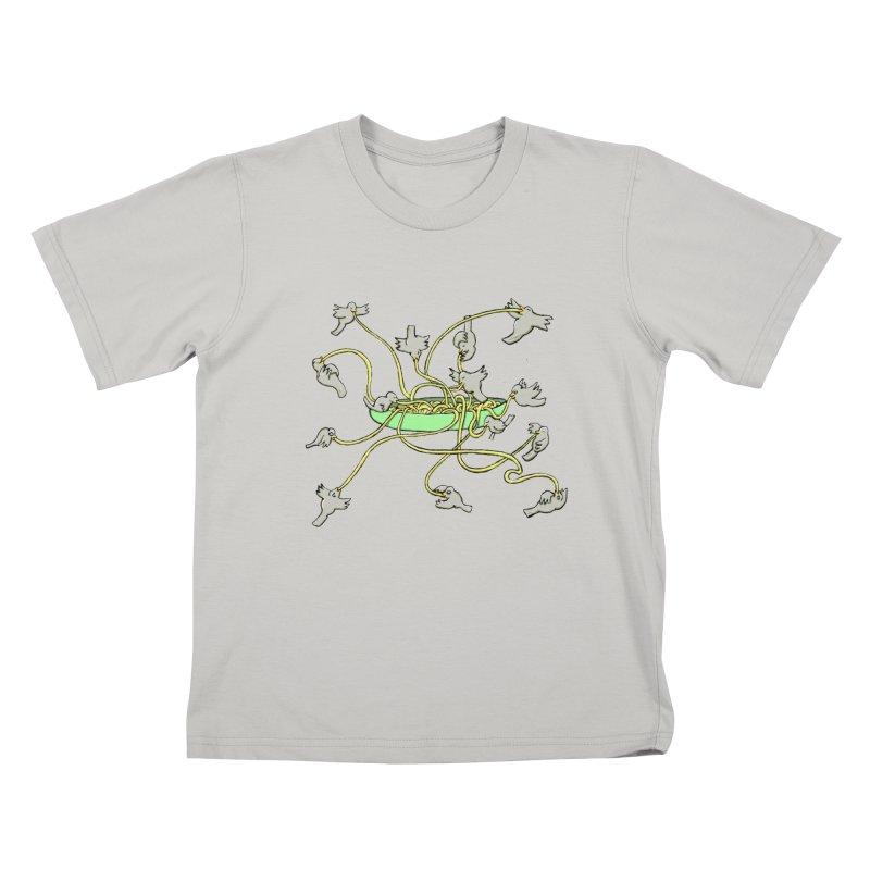 Kids T-shirt by mikbulp's Artist Shop