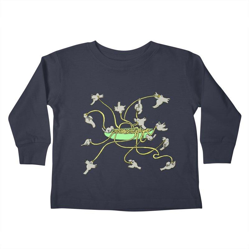 Kids Toddler Longsleeve T-Shirt by mikbulp's Artist Shop