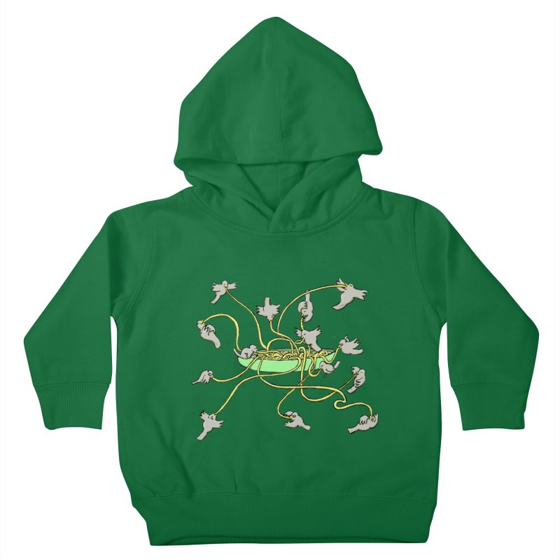 Kids Toddler Pullover Hoody by mikbulp's Artist Shop