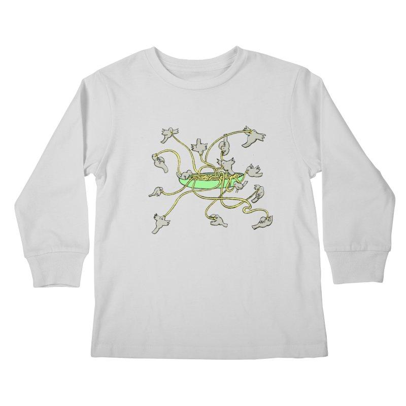 Kids Longsleeve T-Shirt by mikbulp's Artist Shop
