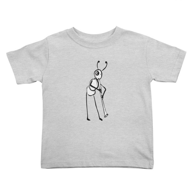 ant Kids Toddler T-Shirt by mikbulp's Artist Shop