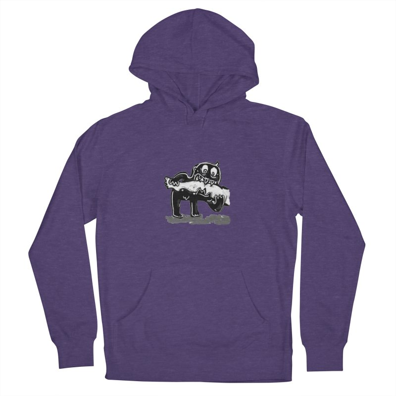 ankle biter Men's French Terry Pullover Hoody by mikbulp's Artist Shop