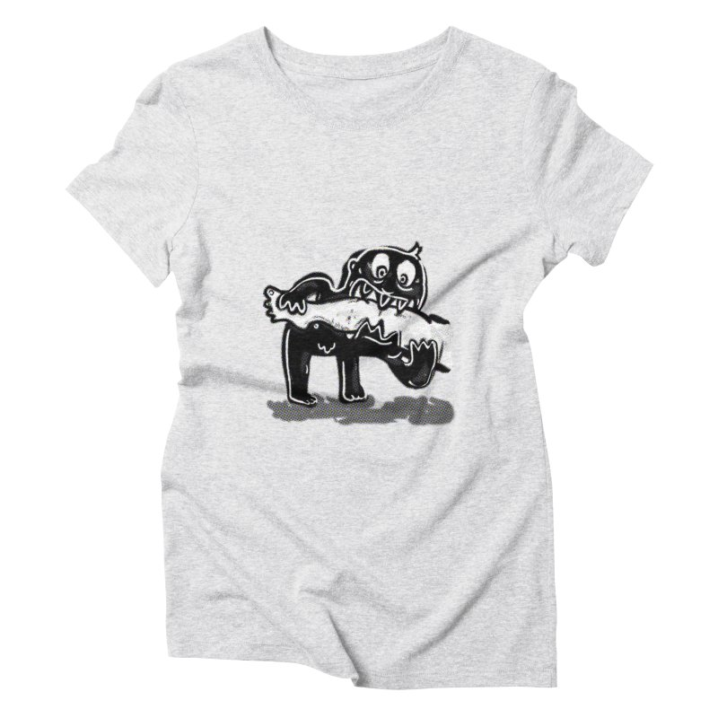 ankle biter Women's T-Shirt by mikbulp's Artist Shop