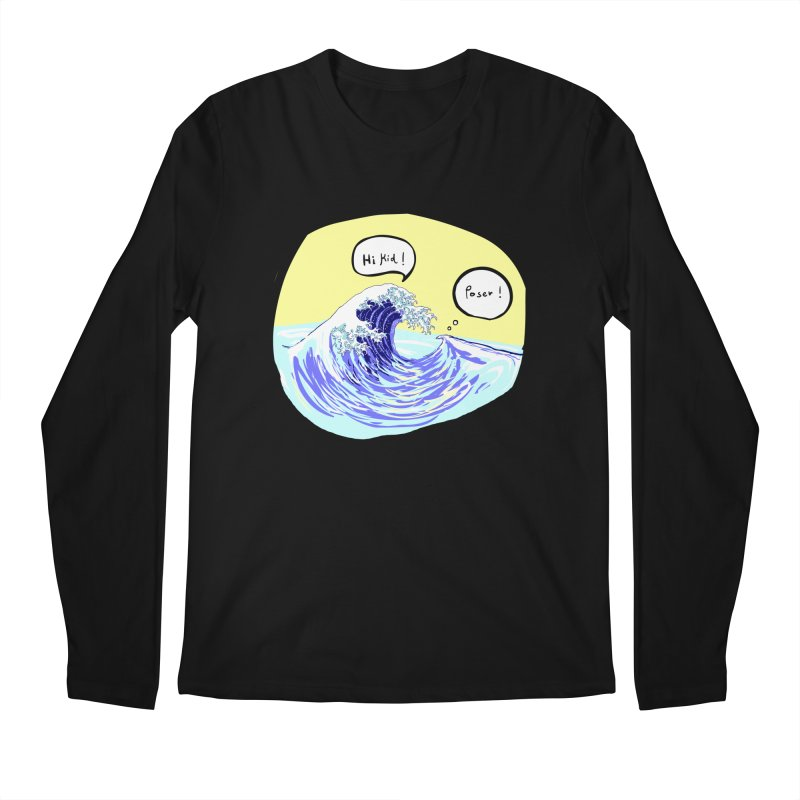 wave to wave 2 Men's Longsleeve T-Shirt by mikbulp's Artist Shop