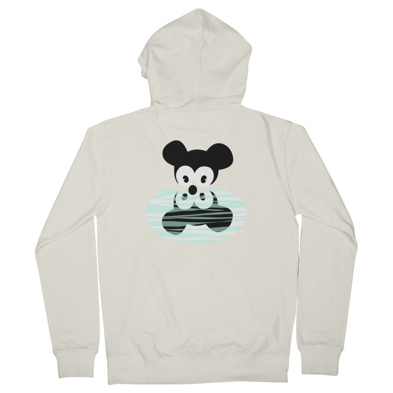 narcissistic mouse Women's French Terry Zip-Up Hoody by mikbulp's Artist Shop