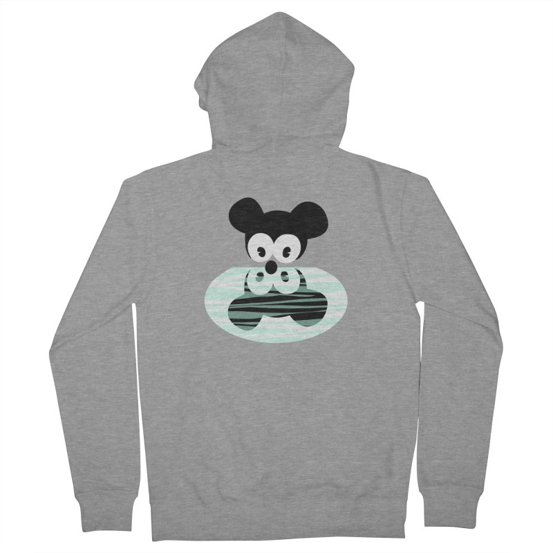 narcissistic mouse Men's Zip-Up Hoody by mikbulp's Artist Shop