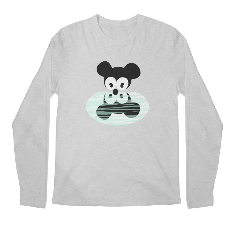 narcissistic mouse Men's Regular Longsleeve T-Shirt by mikbulp's Artist Shop