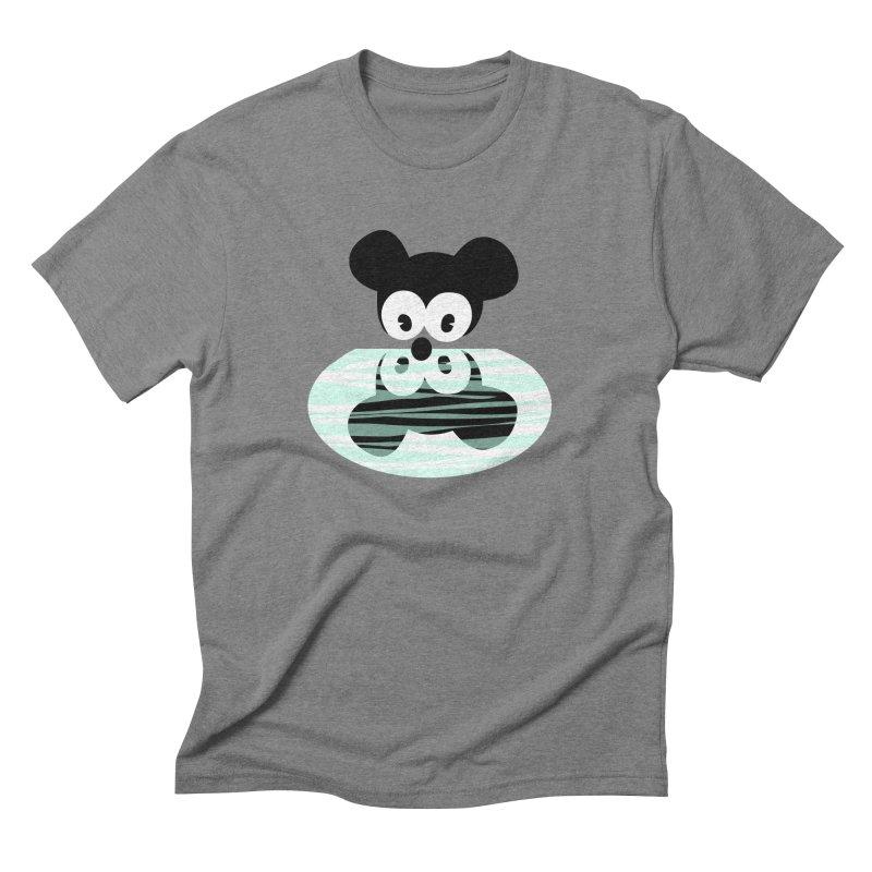 narcissistic mouse Men's Triblend T-shirt by mikbulp's Artist Shop