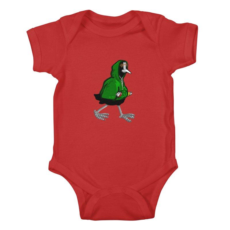 Blaessi Kids Baby Bodysuit by mikbulp's Artist Shop