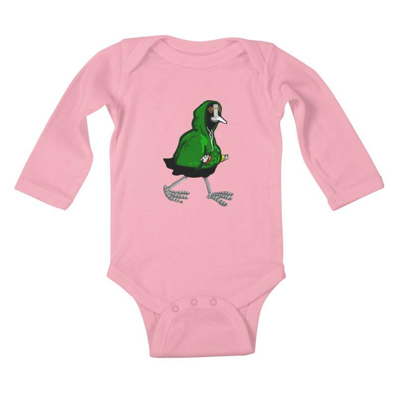 Blaessi Kids Baby Longsleeve Bodysuit by mikbulp's Artist Shop
