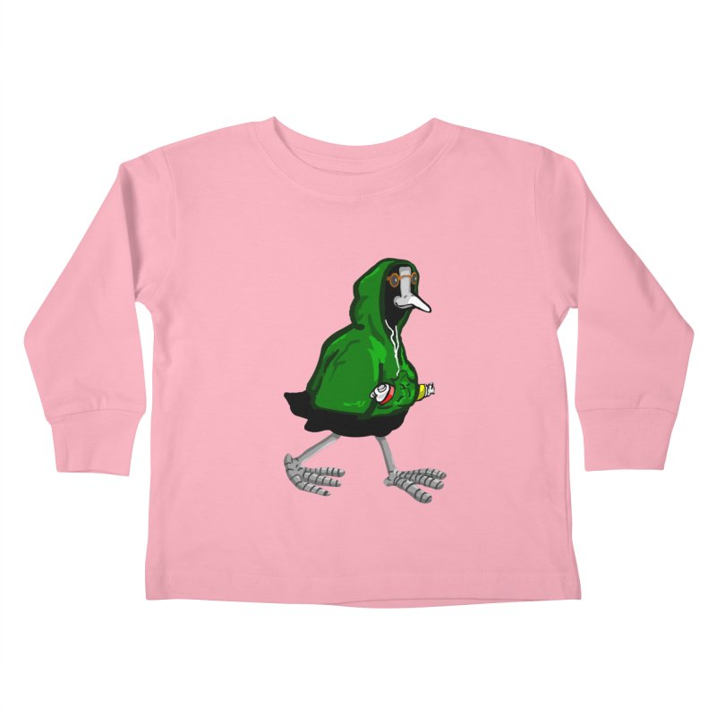 Blaessi Kids Toddler Longsleeve T-Shirt by mikbulp's Artist Shop