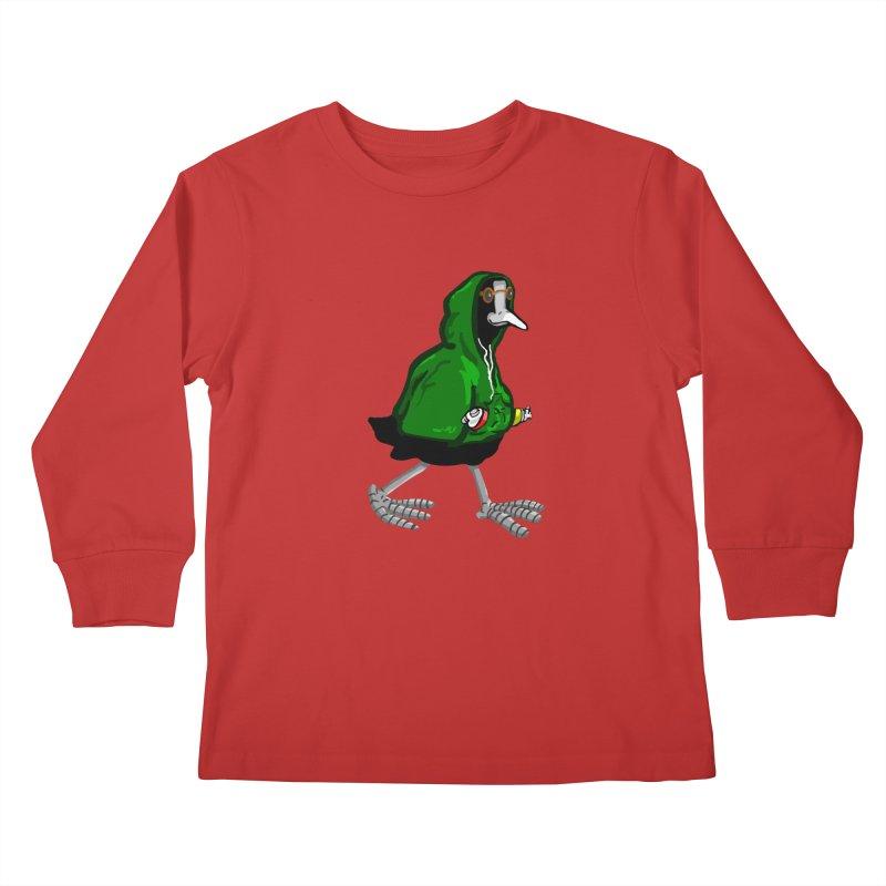 Blaessi Kids Longsleeve T-Shirt by mikbulp's Artist Shop