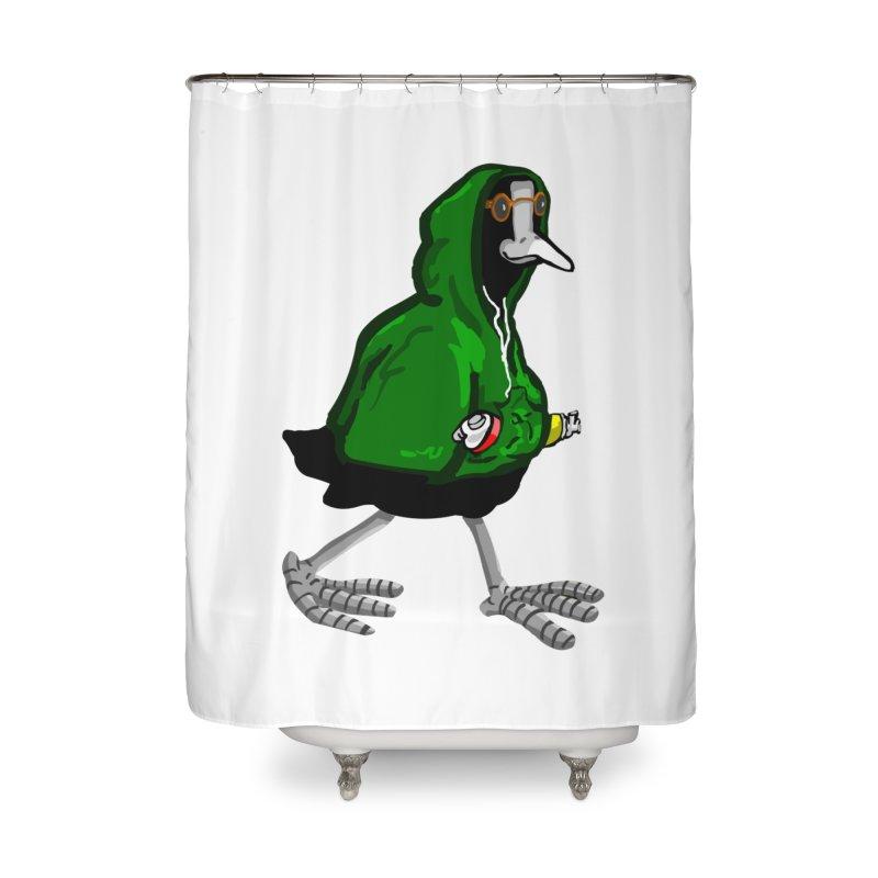 Blaessi Home Shower Curtain by mikbulp's Artist Shop
