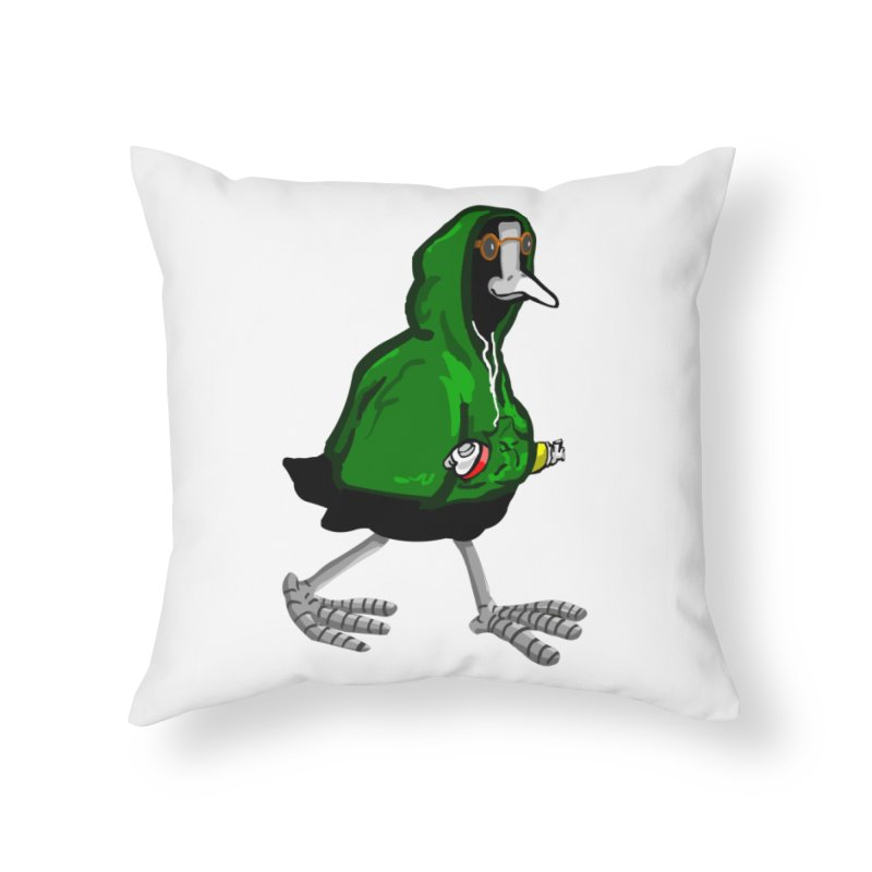 Blaessi Home Throw Pillow by mikbulp's Artist Shop