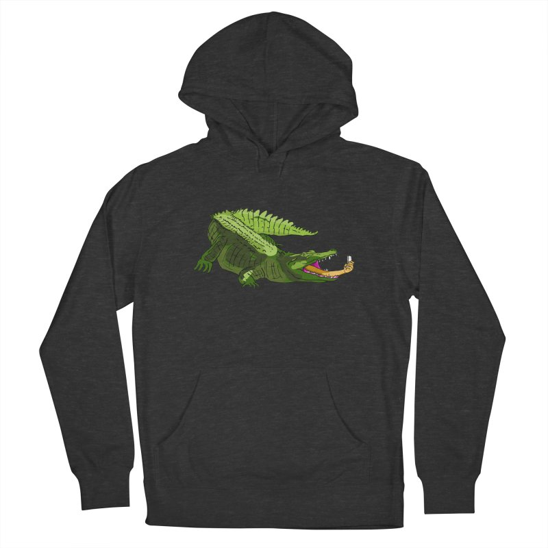 selfie with kroko Men's Pullover Hoody by mikbulp's Artist Shop